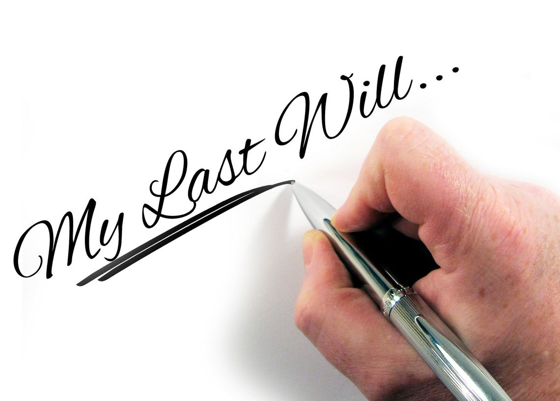 Certainty, Conflict, Comfort: Benefits of a valid will